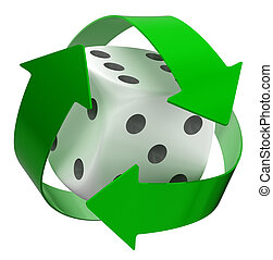 Recycle Dice