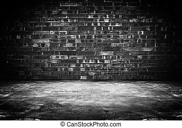 dessins de brique vieux salle fond grungy vieux sombre brique csp16777835. Black Bedroom Furniture Sets. Home Design Ideas