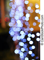 Bokeh background - Lens flare abstract background