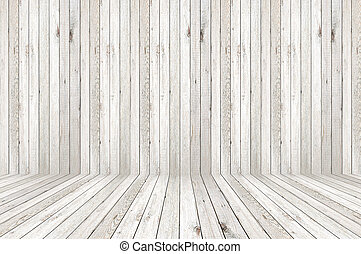 Wood background - Wooden room background