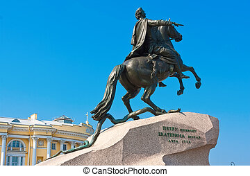 Saint Petersburg - Monument of Peter the First, Saint...
