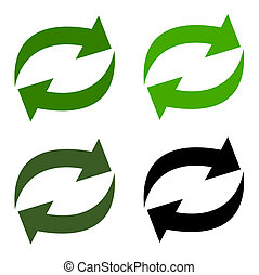 arrow recycling