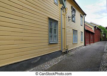 Eskilstuna Old-Town - Old-Town in Eskilstuna (Sweden).
