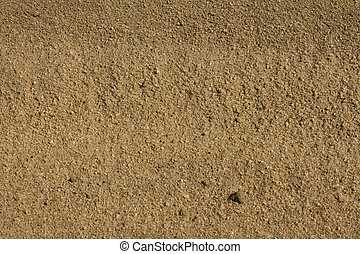 the sand on the Ethiopian road