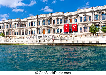 Ciragan Palace - Luxury hotel Ciragan Palace on Bosphorus,...