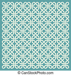 Retro geometric seamless pattern.