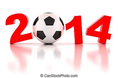 2014, mundo, taza