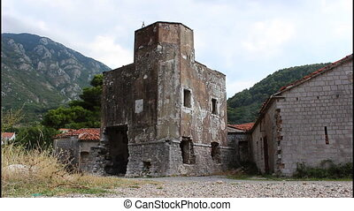 Trojica, old fortification, near Kotor, Montenegro