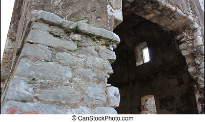 Inside old fort - Trojica, inside old fort, near Kotor