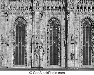 Duomo, Milan - Milan Cathedral Duomo di Milano, in Italy