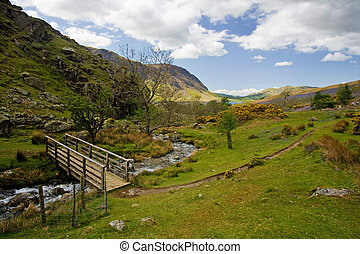 The iconic Rannerdale valley in Spring