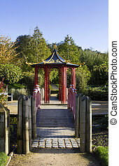 Chinese Pagoda in Bitts Park