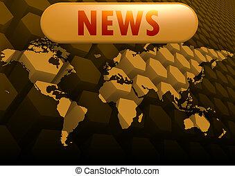 News world map