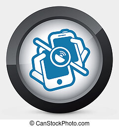 Mobile connection icon