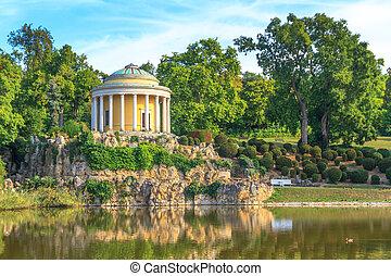 Park of Esterhazy Palace, Leopoldina Temple