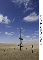 Weather Station - A typical meteorological observation...