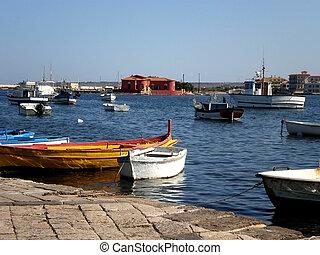 Fishermens' city in Sicily - Marzamemi, fishermens' city in...