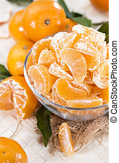 Heap of fresh Tangerines