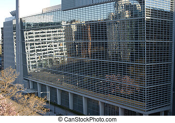 World Bank headquarter - View of the World Bank headquarter...