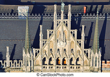 Detail of New Town Hall in Munich