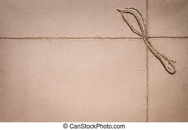 Parcel background - Original vintage style parcel background