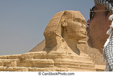 Kissing the Sphinx - The Giza Necropolis is an...
