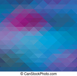Geometric Triangle neon background pattern - Geometric...