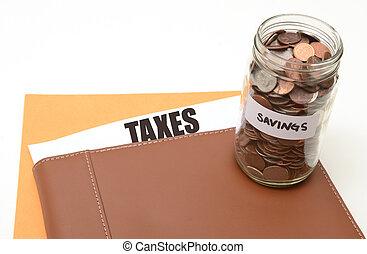 taxes or tax savings
