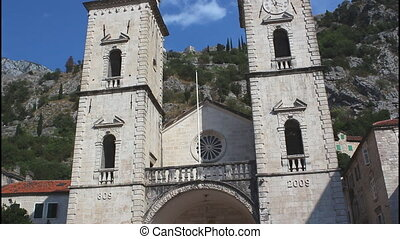 Kotor, the Cathedral of Saint Tryphon, tilt up