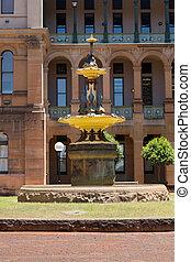 Robert Brough fountain Sydney Hospital - Fountain dedicated...