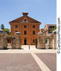 Old buildings of Hyde Park Barracks Museum - The Hyde Park...