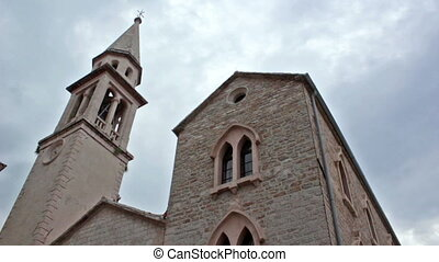 Saint Ivan, Catholic church in old city Budva