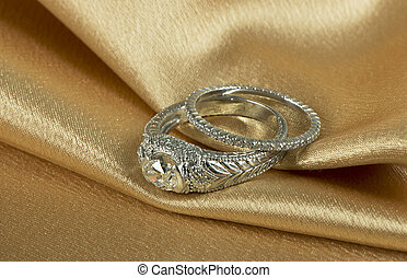 Diamond wedding rings - Diamond wedding and engagement rings...