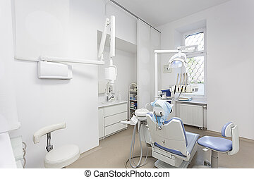 Dentist office - Interior of a modern bright dentist office