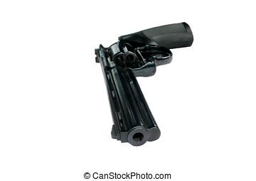 Magnum - Big 357 magnum revolver isolated on white