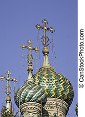 Dome of Russian Orthodox church