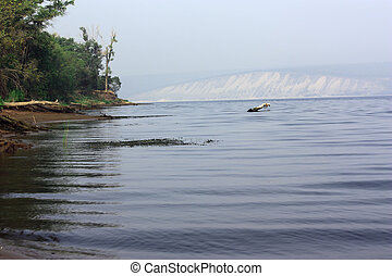 Volga beauty - View of the right bank of the Volga from the...