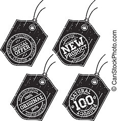 Grunge Labels