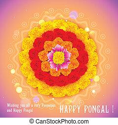 szczęśliwy, Pongal