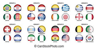 國家, 旗, 彙整