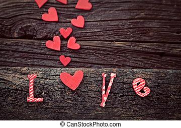 Amor, letras