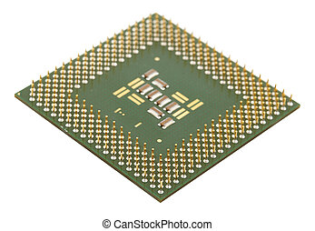 Microprocessor for computer, shallow DOF