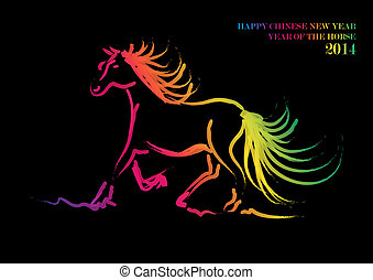 Happy Chinese New Year of horse 2014 - 2014 Chinese New Year...