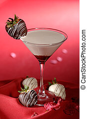 White Chocolate Martini Cocktail - White chocolate Martini...