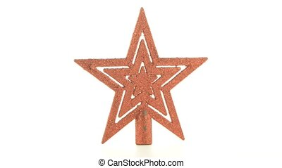 Christmas decoration star to decorate a Christmas tree