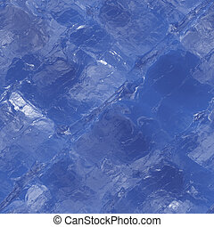 Ice texture - Icy blue seamless texture background with...