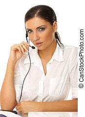 secretária, Online