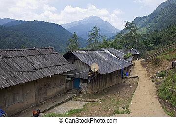 Xin Chai village near Sapa, Vietnam