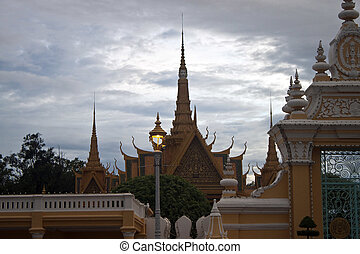 Royal Palace in Pnom Penh, Cambodia