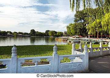 Houhai Lake, Beijing, China